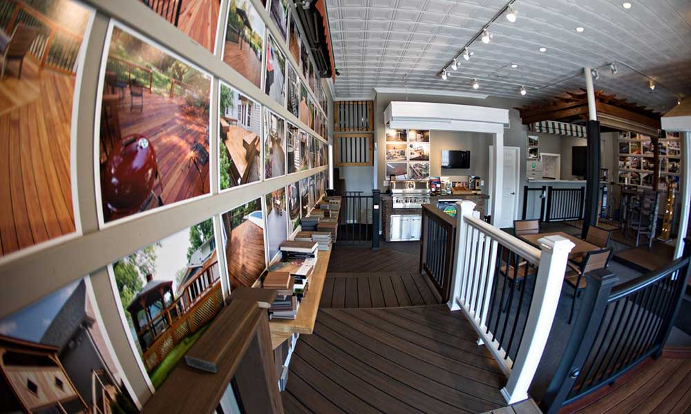 California Custom Decks Showroom