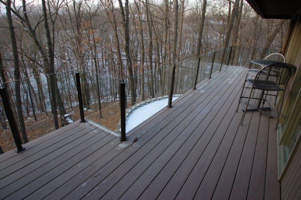 Azek Silver Oak Deck St Louis
