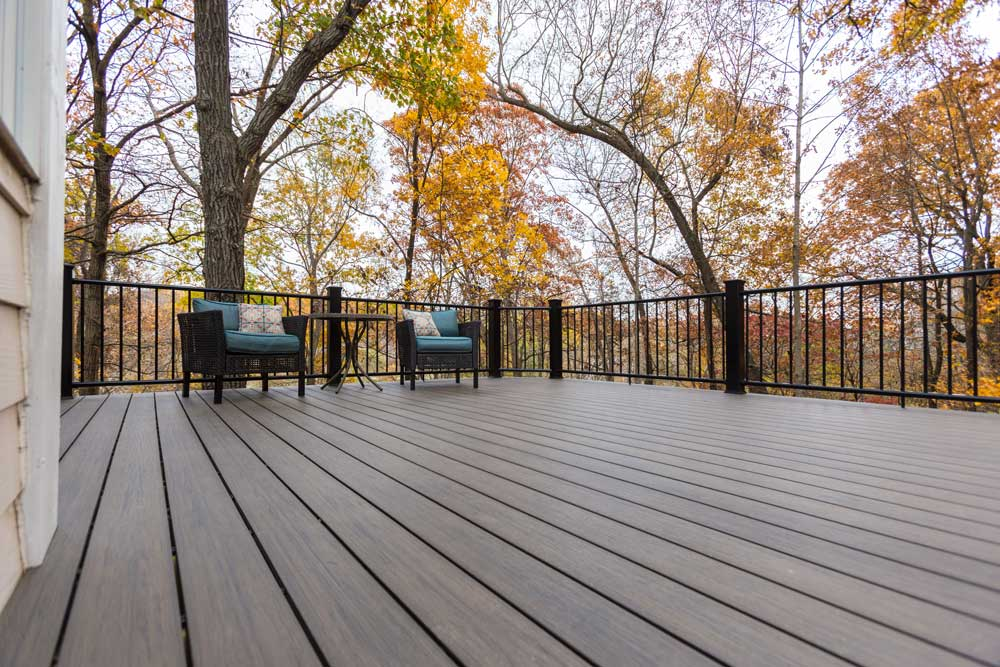 Deckorators Ironwood Black Metal Railing