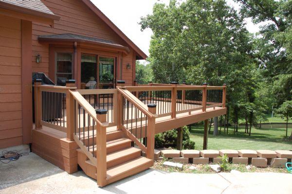 Evergrain Redwood Deck St Louis