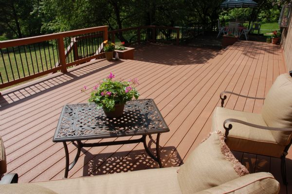 Evergrain Redwood Deck St Louis