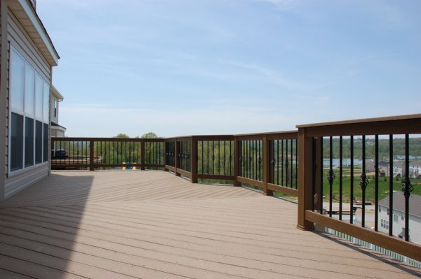 Evergrain Weathered Wood Deck St Louis
