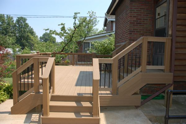 Evergrain Weathered Wood Deck, St. Louis