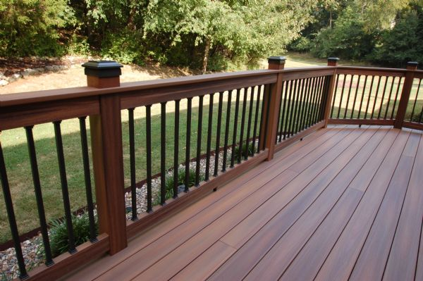 Photo gallery gallery image 181 california custom decks for Fiberon horizon ipe decking