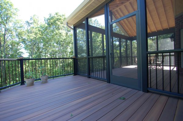Fiberon Horizon Ipe Deck Sunroom Wildwood