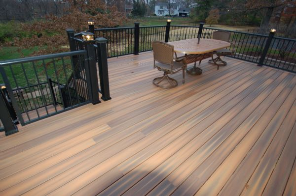 Fiberon Horizon Ipe Deck Town Country