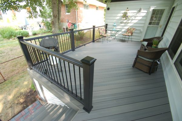 Fiberon Pro Tect Gray Birch Deck St Louis