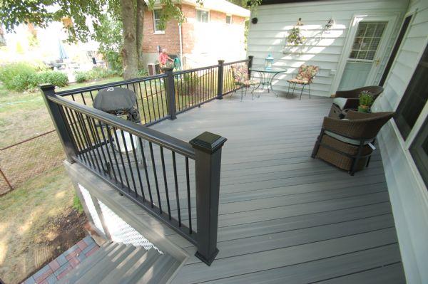 Fiberon Pro Tect Gray Birch Deck St Louis