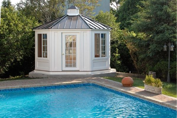 Outdoor Poolhouse Cabana