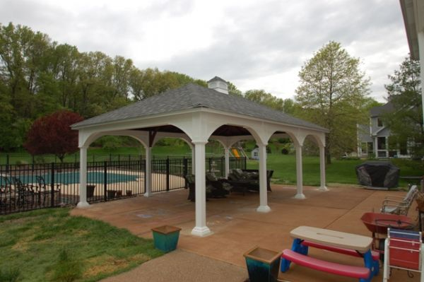 Pavilion Gazebo St Louis