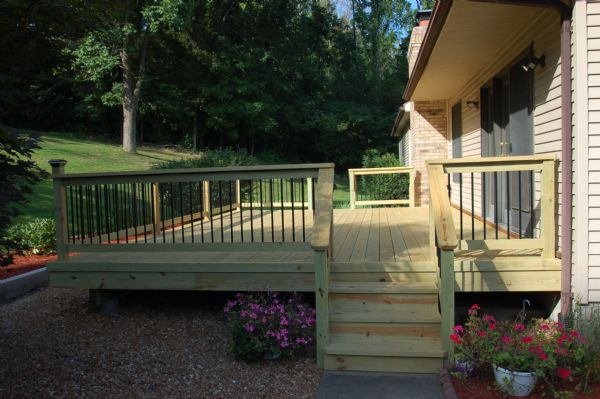 Pine Deck Brentwood