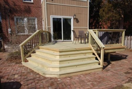 Pine Deck Stairs St Louis