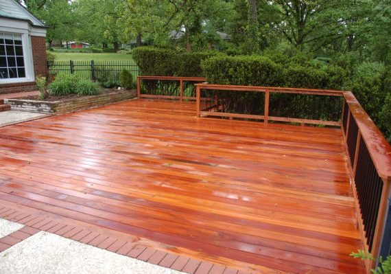 Tiger Deck Hardwood Ladue St Louis