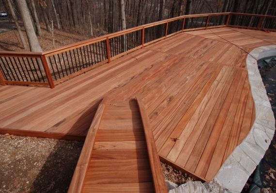 Tiger Deck Hardwood Pool St Louis