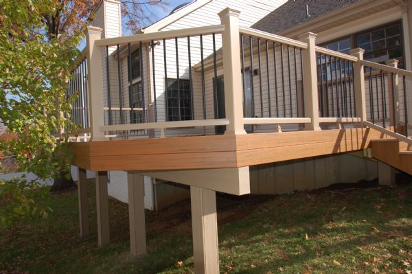 TimberTech Pacific Teak Deck Chesterfield St Louis