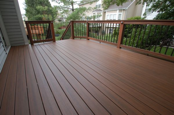 TimberTech Pacific Walnut Deck Chesterfield St Louis