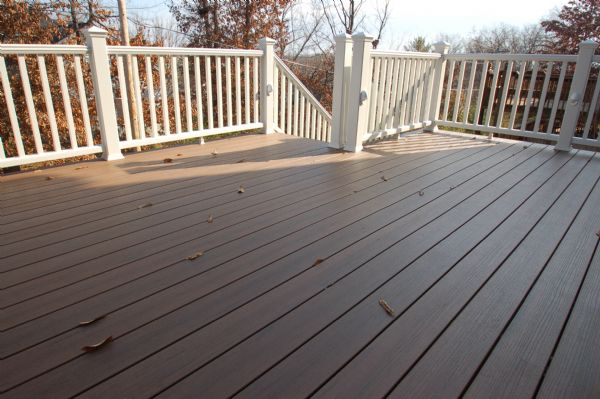 TimberTech Pacific Walnut Deck St Louis