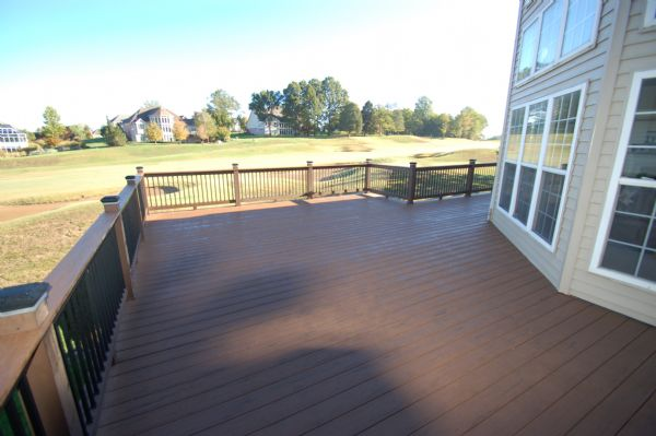 TimberTech Terrain Brown Oak Deck Eureka St Louis