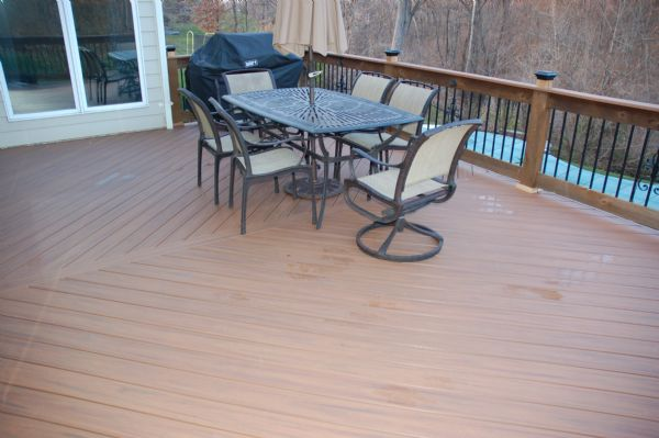 TimberTech XLM Harvest Bronze Deck Chesterfield St Louis