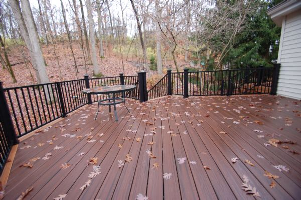 Trex TikiTorch Deck Webster Groves St Louis