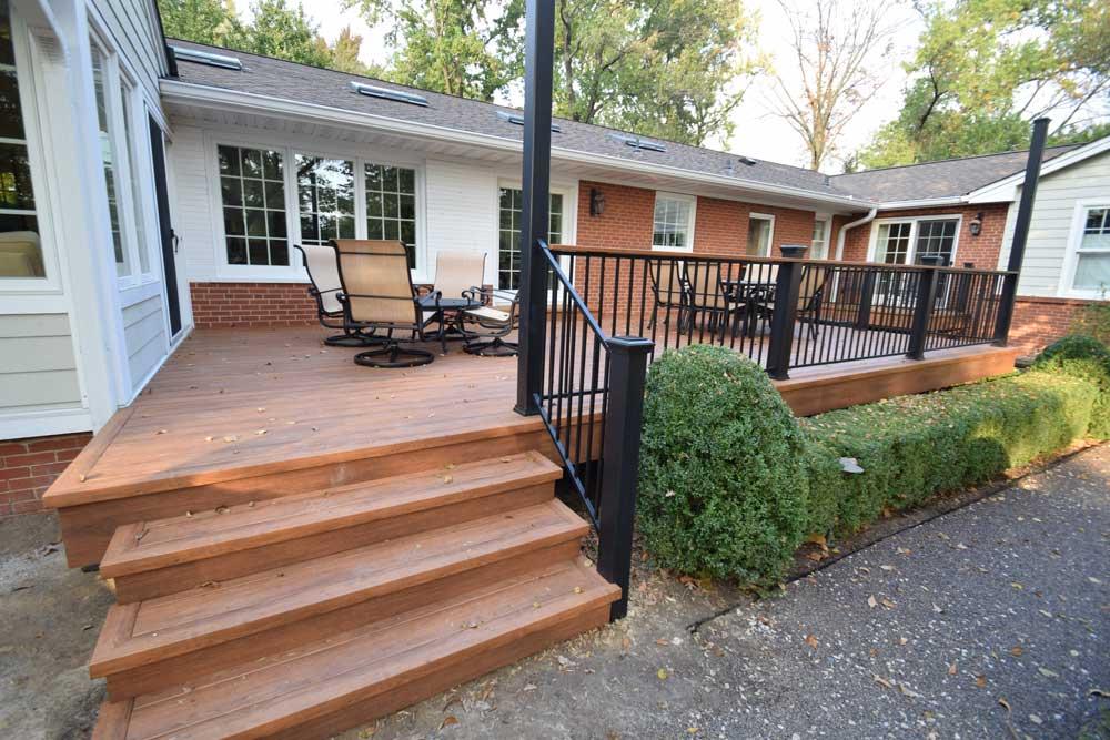 Deck Parts, Railings & Staircases - California Custom Decks