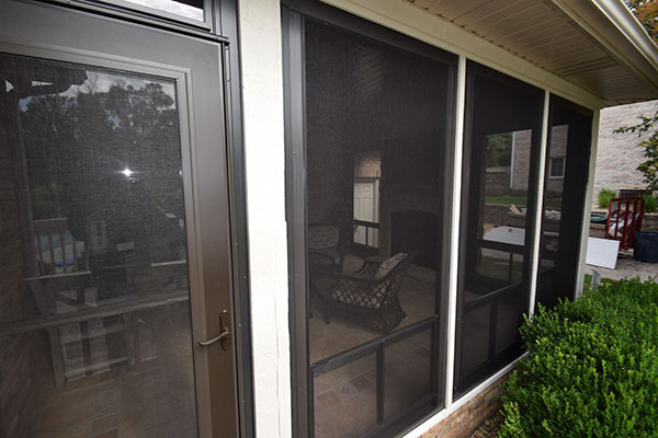 Eze-Breeze Three Season Sunroom Screen Windows St. Louis