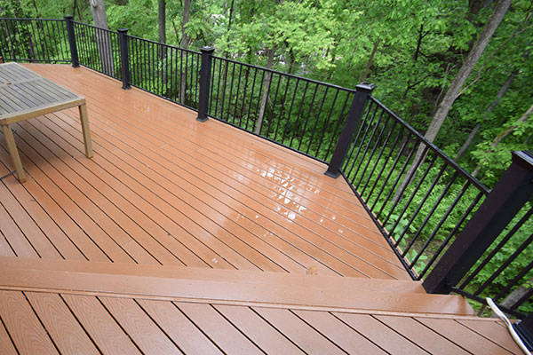 Trex Saddle Black Railing
