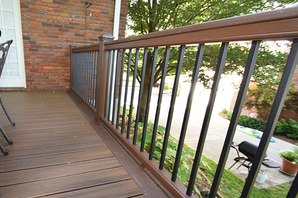 Deck Parts, Railings & Staircases - California Custom Decks