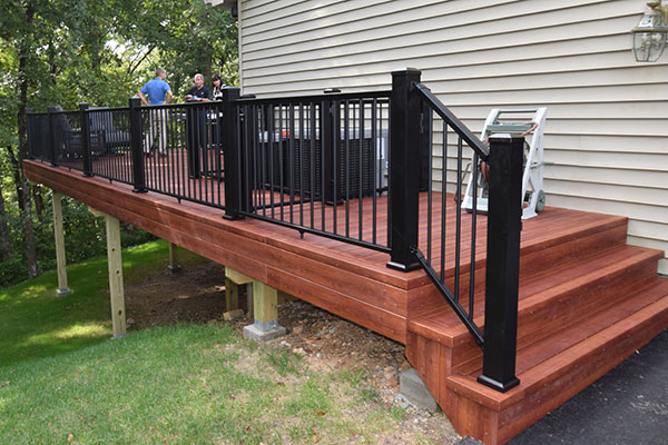Zuri Brazilia Black Railing St. Louis
