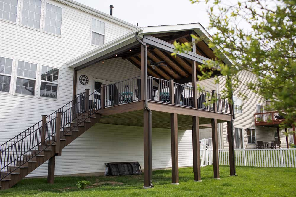 Covered Deck Elevated