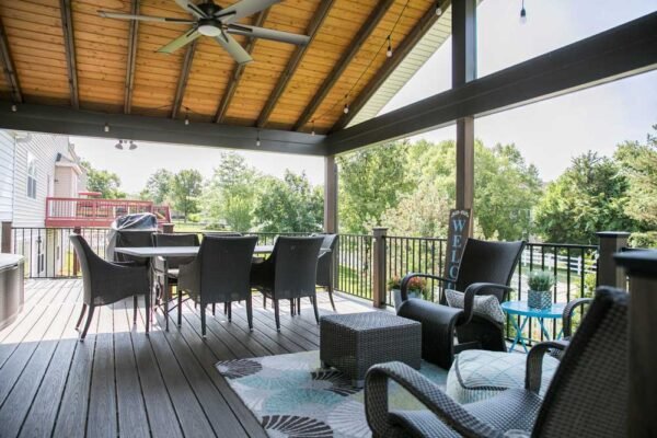 Covered Deck St. Louis